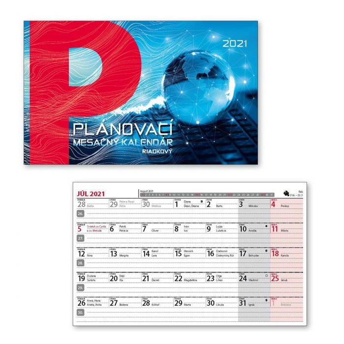 262f8f42a Stolový kalendár pracovný stĺpcový 2019 | kanpex.sk
